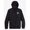 BURTON OAK SEASONAL FULL-ZIP FLEECE TRUE BLACK HEATHER