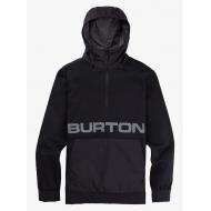 BURTON OAK SEASONAL PULLOVER FLEECE DRESS BLUE HEATHER