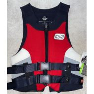 RIPCURL LIFE JACKET ANTI-IMPACT NEOPRENE RED