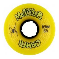 HAWGS MICRO MONSTER YELLOW 63MM / 82A