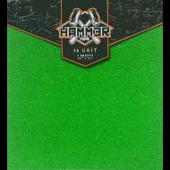 HAMMER 36 GRIT GREEN GRIP
