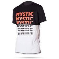 MYSTIC LYCRA DRIP QUICK DRY S/S BLACK/WHITE