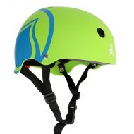 LIQUID FORCE HELMET ICON GREEN/BLUE