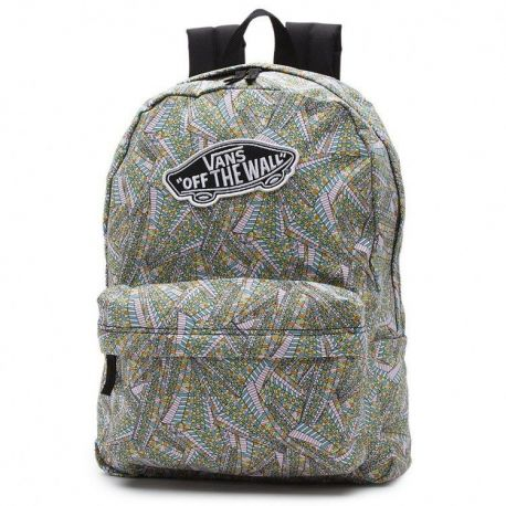 VANS G REALM BACKPACK VNZ0H5P ABSTRACT