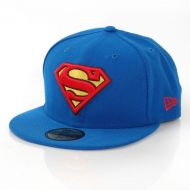 NEW ERA CAP BASIC SUPERMAN BLUE RED YL