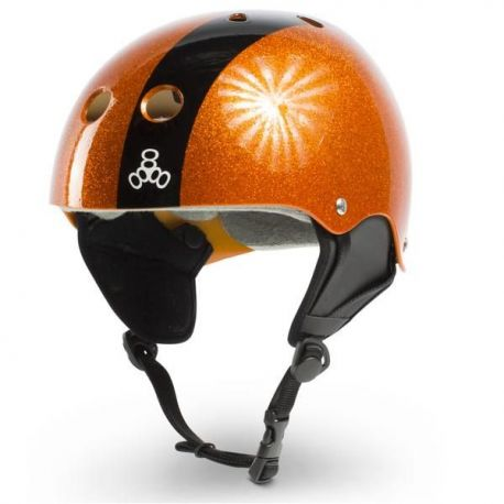 LIQUID FORCE HELMET FLASH ORANGE M 2016