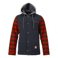 BURTON DUNMORE JACKET TRUE BLACK/BUFFALO PLAID YARN DIE