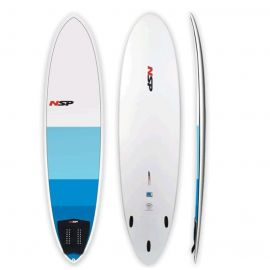 NSP FUNBOARD + LEASH + PAD + FINS 7'2''