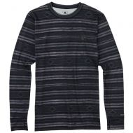 BURTON MIDWEIGHT BASE LAYER CREW FADED STRIPE