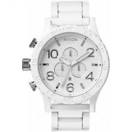NIXON 51-30 CHRONO ALL WHITE/SILVER