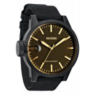 NIXON CHRONICLE MATTE BLACK/ORANGE TINT