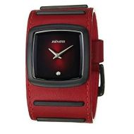 NIXON DUKE ALL BLACK RED
