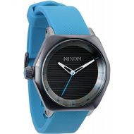 NIXON FADER ALL GUNMETAL/SKY BLUE