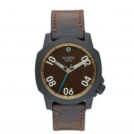 NIXON RANGER 40 LEATHER ALL BLACK/BASS/BROWN
