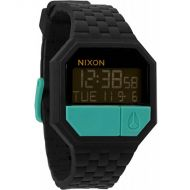 NIXON RUBBER RE-RUN BLK/TEAL