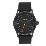 NIXON SENTRY ALL BLK NYLON