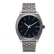 NIXON TIME TELLER GUNMETAL BLUE CRYSTAL