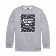 VANS PRINT BOX CREW BO CEMENT HEATH