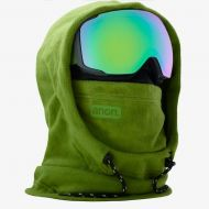 ANON MFI FLEECE HELMET HOOD GREEN