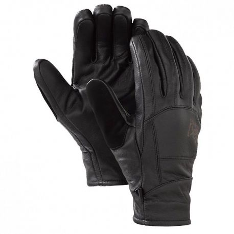 BURTON AK LEATHER TECH GLOVE TRUE BLACK