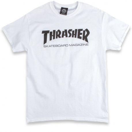 THRASHER SKATEMAG TEE WHT