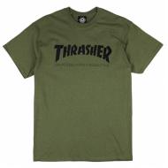 THRASHER SKATEMAG ARMY TEE