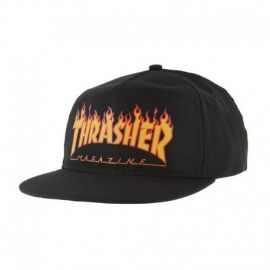 THRASHER GORRA FLAME SNAPBACK