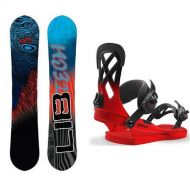 LIB TECH SKATE BANANA BTX 2019 152 + UNION CONTACT PRO VOLT RED 2018