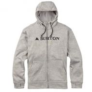 BURTON OAK FULL ZIP MONUMENT HEATHER