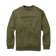BURTON OAK CREW DUSTY OLIVE HEATHER