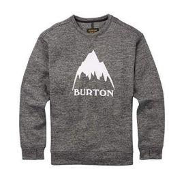 BURTON OAK CREW TRUE BLACK HEATHER