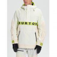 BURTON FROSTNER ANORAK STOUT WHITE