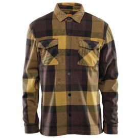 THIRTYTWO REST STOP FLEECE BLACK BROWN
