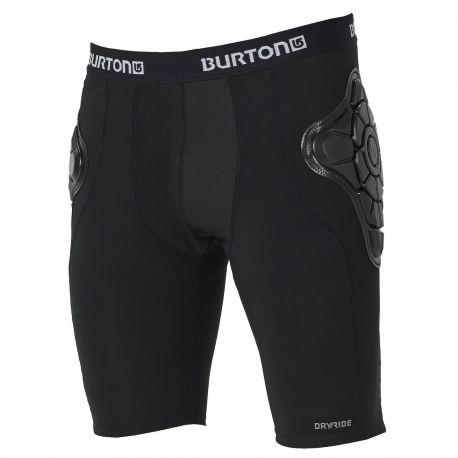 BURTON TOTAL IMPACT SHORT G-FORM BLACK