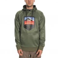 686 KNOCKOUT BONDED FLEECE PULLOVER SURPLUS GREEN