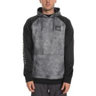 686 KNOCKOUT BONDED FLEECE PULLOVER CHARCOAL WASH COLOUR BLACK