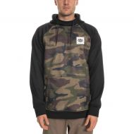 686 KNOCKOUT BONDED FLEECE PULLOVER DARK CAMO BLACK