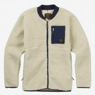 BURTON GROVE FLEECE FULL-ZIP BONE WHITE