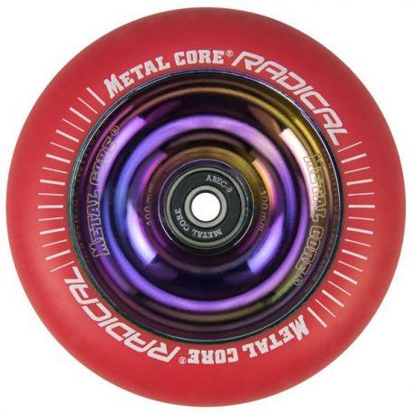 METAL CORE RADICAL RAINBOW FLUORESCENT RED 110mm