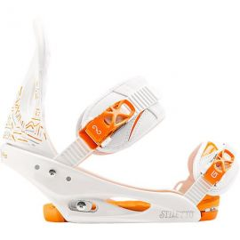 BURTON STILETTO WHITE AND ORANGE 2014 M