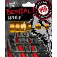 BESTIAL WOLF PEGS DORADO
