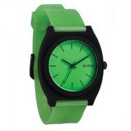 NIXON TIME TELLER P GLO GREEN