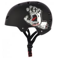 BULLET x SANTA CRUZ HELMET SCREAMING HAND MATTE BLACK