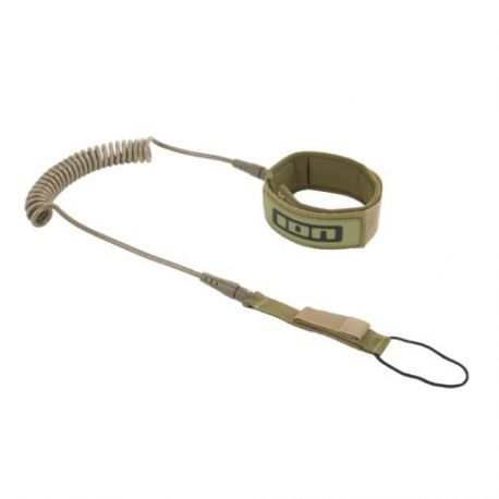 ION SUP CORE LEASH COILED KNEESTRAP OLIVE