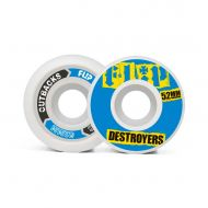 FLIP CUTBACK DESTROYERS 52mm 99a BLUE WHEELS PACK