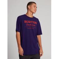 BURTON DURABLA GOODS SHORT SLEEVE T-SHIRT PARACHUTE PURPLE